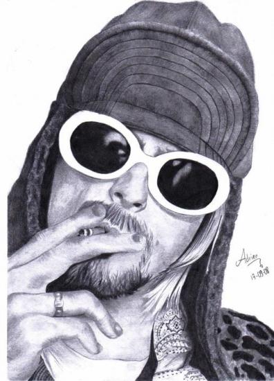 Kurt Cobain by Japanese-Boy
